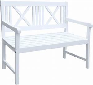 Gartenbank 2 Sitzer Weiß : gartenb nke weiss preisvergleich die besten angebote online kaufen ~ Bigdaddyawards.com Haus und Dekorationen