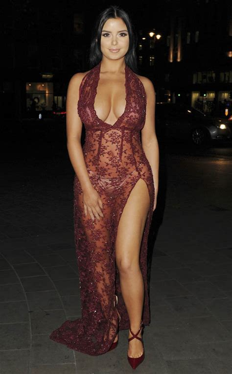 Tyga S Ex Demi Rose Leaves Nothing To He Imagination In
