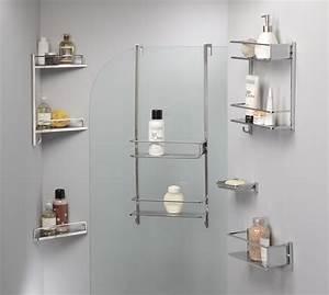 Accessoire bain douche palatino allibert france for Porte gel douche design