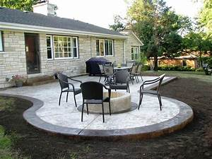 Good looking simple concrete patio design ideas patio for Concrete patio design ideas