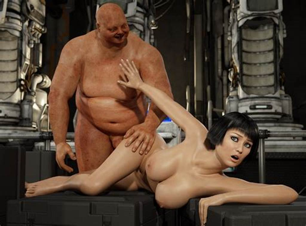 #Alluring #3D #Gal #Loves #Being #Fucked #By #A #Sordid #Monster #At