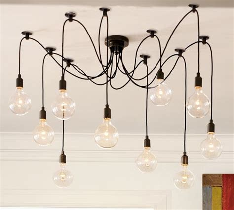copy cat chic pottery barn edison chandelier