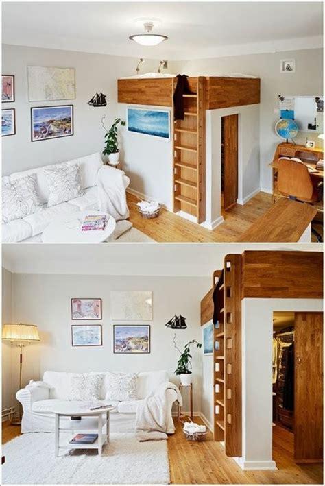 rangement dans chambre 1001 idées comment aménager une chambre mini espaces
