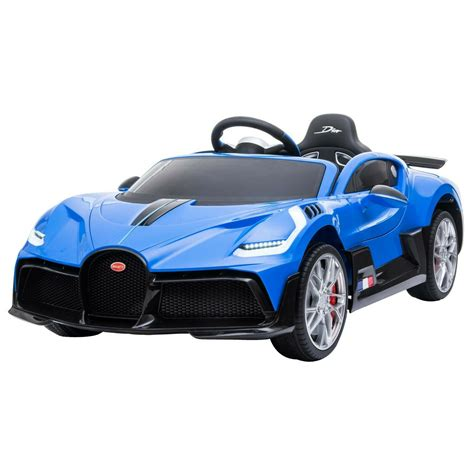 Since the divo was meant to be a better car to drive, bugatti has tweaked the steering to give a more immediate response over the chiron, increased the camber on the wheels and has omitted the 'top speed' mode seen on the divo's sister car. Kids Licensed Bugatti Divo Ride on Car Jeep 12v Electric ...