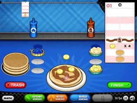 jeux restaurant cuisine jeux de cuisine le restaurant de pancakes