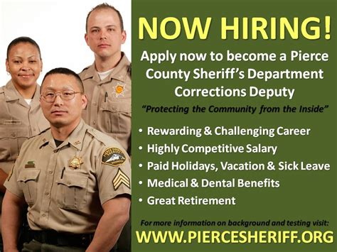pierce county wa official website jobs join our team