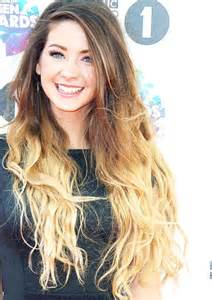 Brown Blonde Ombre Hair Zoella