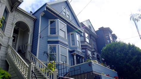 maison bleue san francisco c est une maison bleue