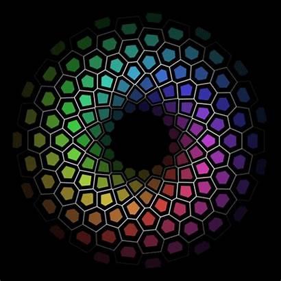 Gifs Illusion Illusions Optical Satisfying Circle Oddly
