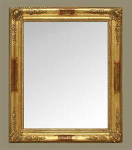 Miroir Cuivre Rose : miroir ancien style romantique dorure cuivre ~ Melissatoandfro.com Idées de Décoration
