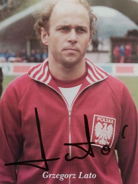 Autografy Norbiego: Grzegorz Lato