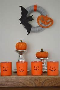 Idée Pour Halloween : id e de d co pour halloween des photophores citrouilles faire soi m me l a et compagnie ~ Melissatoandfro.com Idées de Décoration