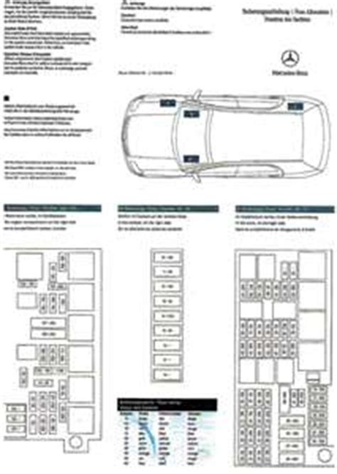 2007 Mercede Ml350 Fuse Diagram by Solved Need A Fuse Diagram For Mercedes 2009 Ml 350 Fixya