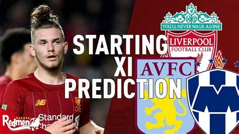 Aston Villa Liverpool Carabao Cup Predictions ...