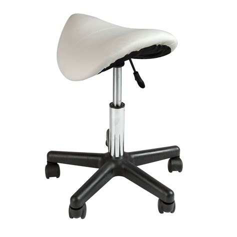 Dental Chairs Saddle Seat by 2 Footrest Saddle Working Stool Doctor Dentist Salon Wide