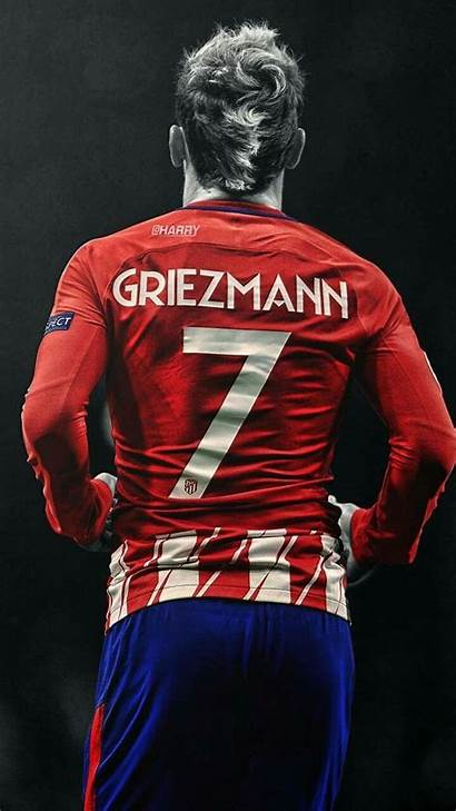 Griezmann Antoine Madrid Wallpapers Barcelona Messi Football