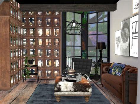 city living room interior  hvikis sims  updates
