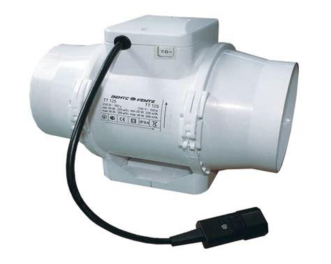 extracteur d air chambre de culture extracteur de gaine ttrv 125mm 2 vitesses 220 280m3