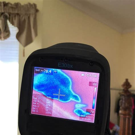 infrared camera  detect water damage   home