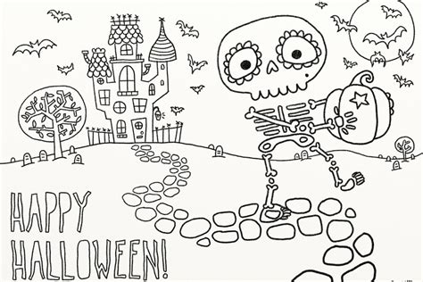 Best Of Free Halloween Coloring Pages