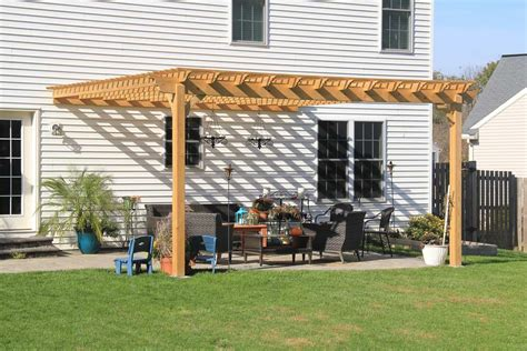 Backyard Pergola Ideas by Beautiful Attached Pergola Connected To A House In