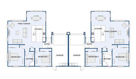 selby duplex  house plan  design wellington