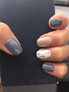 Grey-Nails | DIY Easter Nail Art Ideas for Teens | Easy ...