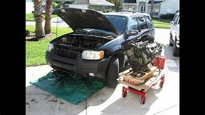 Taurus Engine Into A Ford Escape Part 2