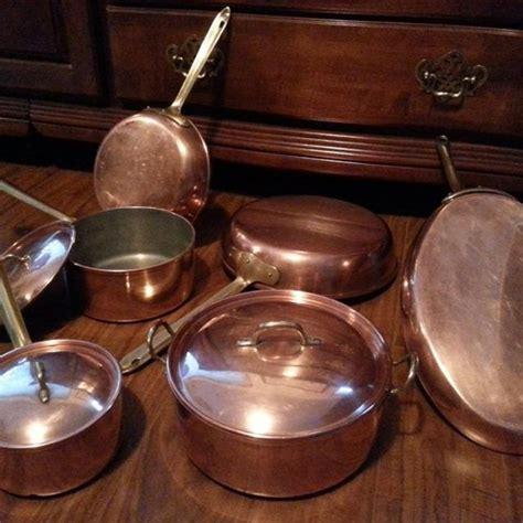 choose   copper pots  pans