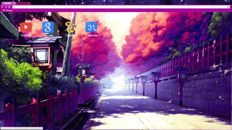 Anime Chrome Wallpaper - anime streets chrome theme themebeta chrome theme