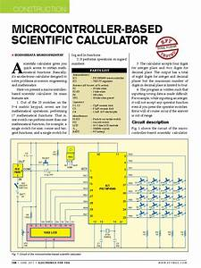 Micro Controller Based Scientific Calculator