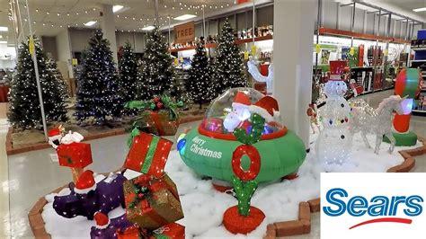 sears christmas  christmas trees inflatables