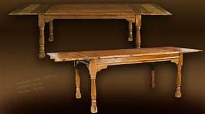 Grande table de salle a manger rustique avec rallonges for Salle À manger contemporaineavec grande table de salle a manger avec rallonge