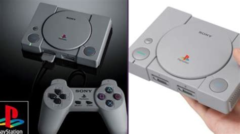 sony announced the playstation classic with 20 legendary built in ladbible