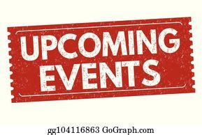 Upcoming Events Clip Art - Royalty Free - GoGraph