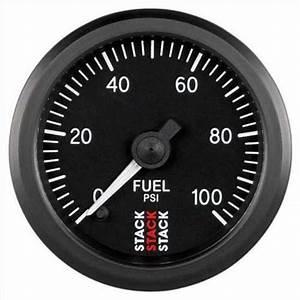 Stack Professional Stepper Motor Fuel Pressure Gauge