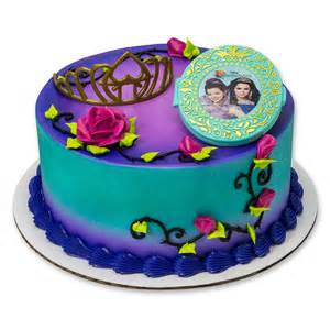 personalized fans for wedding disney 39 s descendants your spell cake topper party