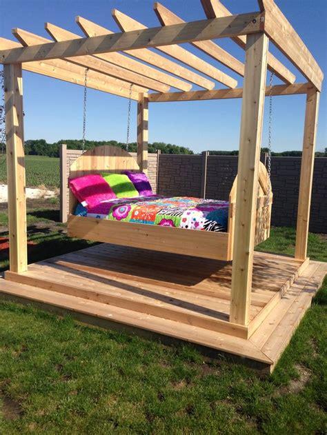 best 20 outdoor swing beds ideas on pergola
