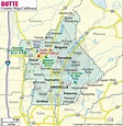 Buy Butte County Map