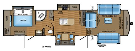 Jayco 5th Wheel Floor Plans 2018 by 2017 Designer Luxury Fifth Wheel Floorplans Prices