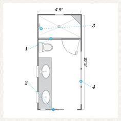 40930 small narrow bathroom floor plans 1000 ideas about small bathroom layout on