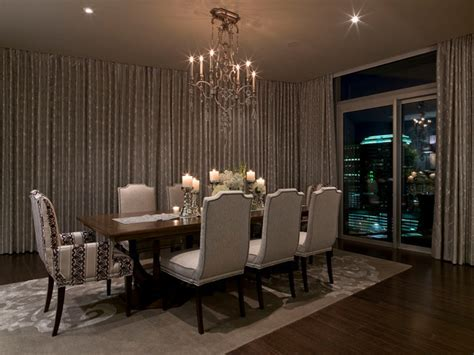 Austonian Luxury Condo   Contemporary   Dining Room