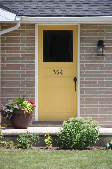 perfect color for my front door bm stuart gold doors