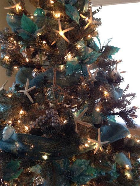 beach christmas tree holiday decor ideas pinterest