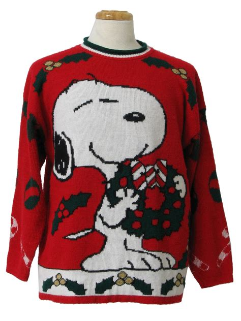 snoopy sweater 1980 39 s vintage snoopy sweater 80s