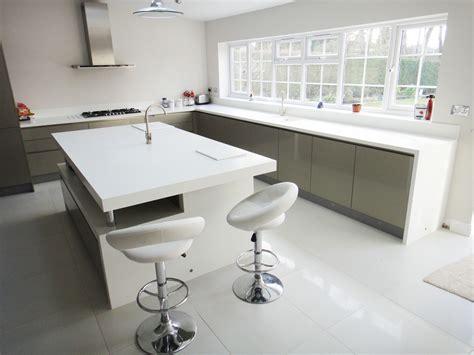 Corian Kitchen Worktops White Corian Kitchen Worktop