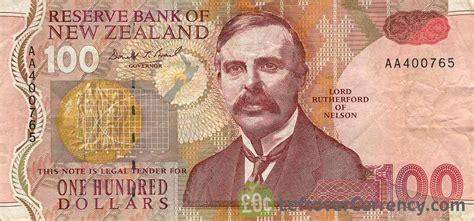 money exchange nz 100 new zealand dollars series 1992 exchange yours for