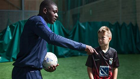 NEWS: Coventry City Academy player's lend a hand at SBitC ...