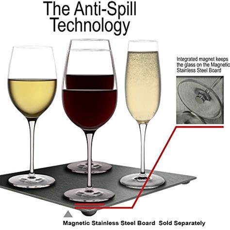 Boat Wine Glasses by Anti Spill Wine Glasses 4 White Glasses For Boat