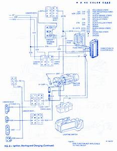 Ford Thunderbird General 1968 Electrical Circuit Wiring